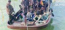 বাংলাদেশি ৯ জেলেকে পতাকা বৈঠকের মাধ্যমে ফিরিয়ে দিয়েছে মিয়ানমার
