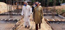 অবশেষে আলোর মুখ দেখছে ৩ কোটি টাকা বরাদ্দে পহরচাঁদা মাদরাসার ভবন নির্মাণকাজ