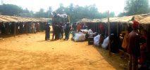 শামলাপুর ২৩নং ক্যাম্প হতে ২য় দফায় ১৪১ রোহিঙ্গা পরিবারকে কুতুপালং-বালুখালীতে হস্তান্তর