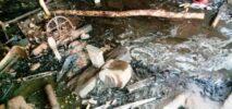 হারবাং বাসস্টেশনে আগুনে পুড়ে ছাঁই ৮দোকান, ২০ লাখ টাকার ক্ষতিসাধন