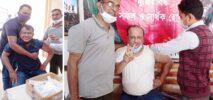 করোনার টিকা নিলে ওসি আলমগীরসহ রাজনৈতিক নেতৃবৃন্দরা