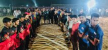 টেকপাড়ায় নাইট টি-টেন ব্লাস্ট টুর্নামেন্ট'র ৩য় আসরের উদ্বোধন