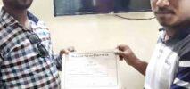 সার্ভেয়ারের সনদ অর্জন করলেন হ্নীলার আক্তারুজ্জামান বাবুল ওরফে কাজল