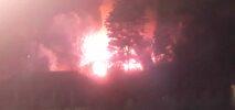 হ্নীলা পুরান বাজার জাদি পাহাড়ে অগ্নিকান্ড ; নগদ টাকাসহ দুই বসত-বাড়ি পুড়ে ছাঁই