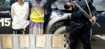 নয়াপাড়া শরণার্থী ক্যাম্পে দুই রোহিঙ্গা ইয়াবাসহ আটক