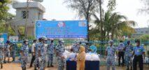 বিমান বাহিনী ঘাঁটি শেখ হাসিনা'র মানবিক কার্যক্রম অব্যাহত