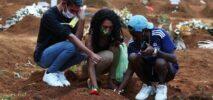 করোনা : ব্রাজিলে একদিনে রেকর্ড ৪১৯৫ মৃত্যু