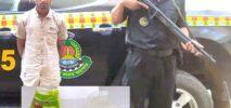 হ্নীলা জাদিমোরা সীমান্তে ১কেজি ক্রিস্টাল আইস মেথসহ রোহিঙ্গা আটক