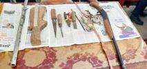 নাইক্ষ্যংছড়িতে পুলিশের অভিযানে বন্দুকসহ সরমঞ্জাম উদ্ধার