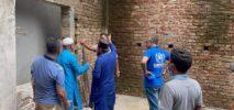 টেকনাফ প্রেসক্লাবের নব-নির্মিত ভবনের কাজ পরিদর্শন করলেন মেয়র মোঃ ইসলাম
